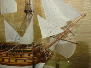 wooden ship model Norske Love (33)