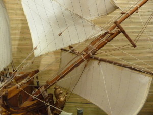 wooden ship model Norske Love (34)