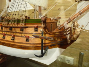 wooden ship model Norske Love (35)
