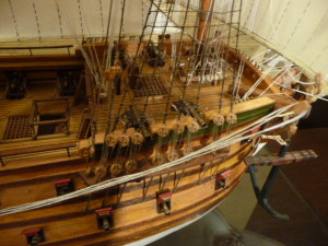 wooden ship model Norske Love (36)