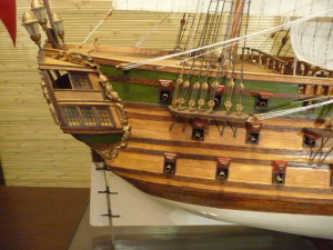 wood model ship kit Norske Love