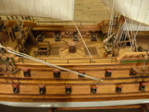 wooden ship model Norske Love (4)