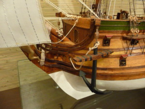 wooden ship model Norske Love (6)