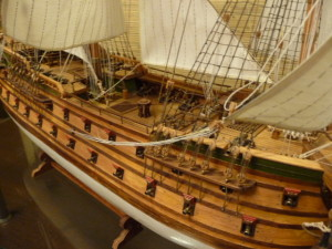 wooden ship model Norske Love (7)