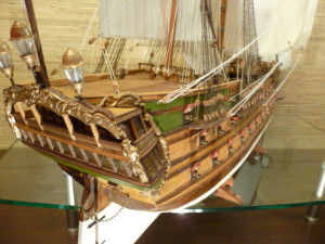 wooden ship model Norske Love (8)