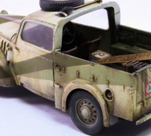 car plastic model Austin Tilly