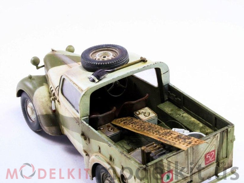 car plastic model from Tamiya
