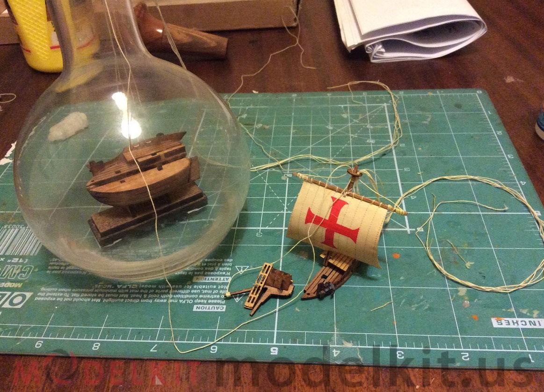 building ship in a bottle 7