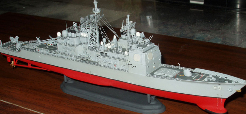 model Missile Cruisers USS Princeton