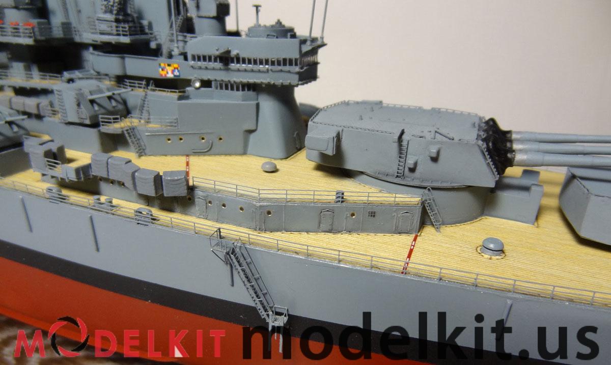 model USS New Jersey