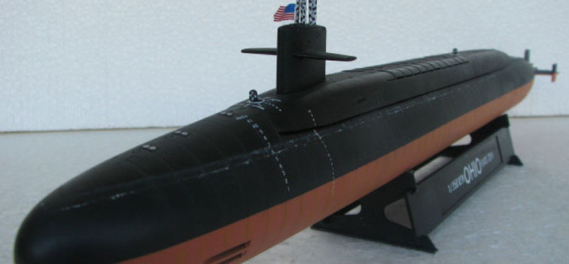 model submarine USS OHIO