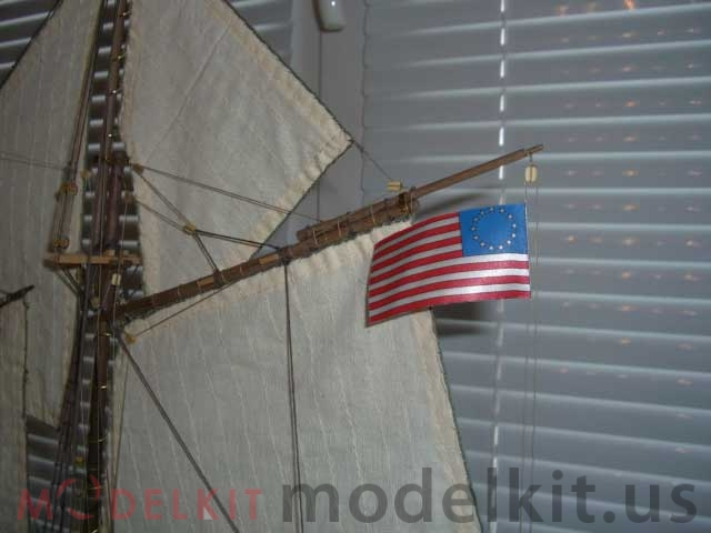 model tall ship Independence