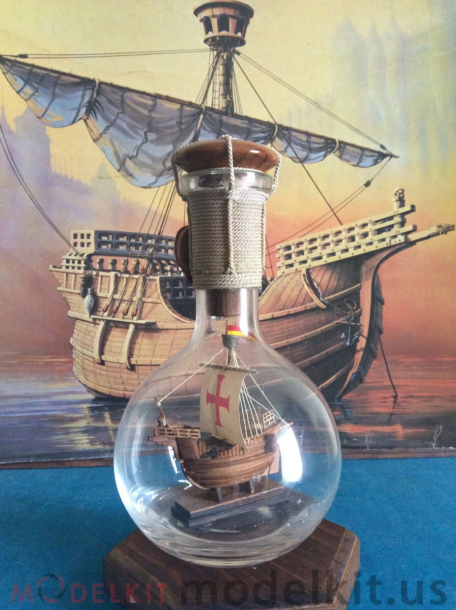 Catalan ship in a bottle (10)