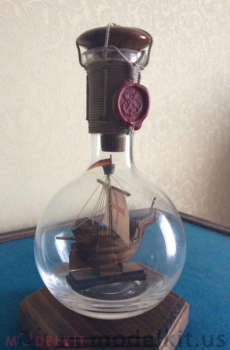 Catalan ship in a bottle (9)