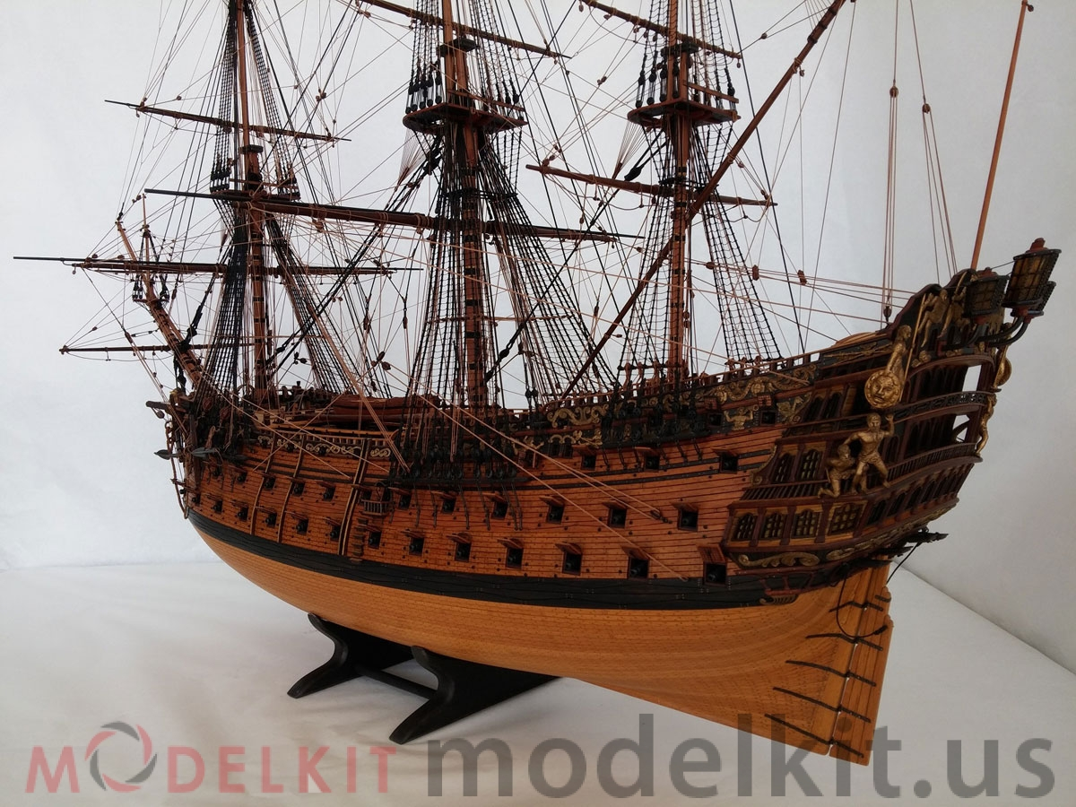 Wooden Model Ship Hms Royal William 1719 18 Foto Model