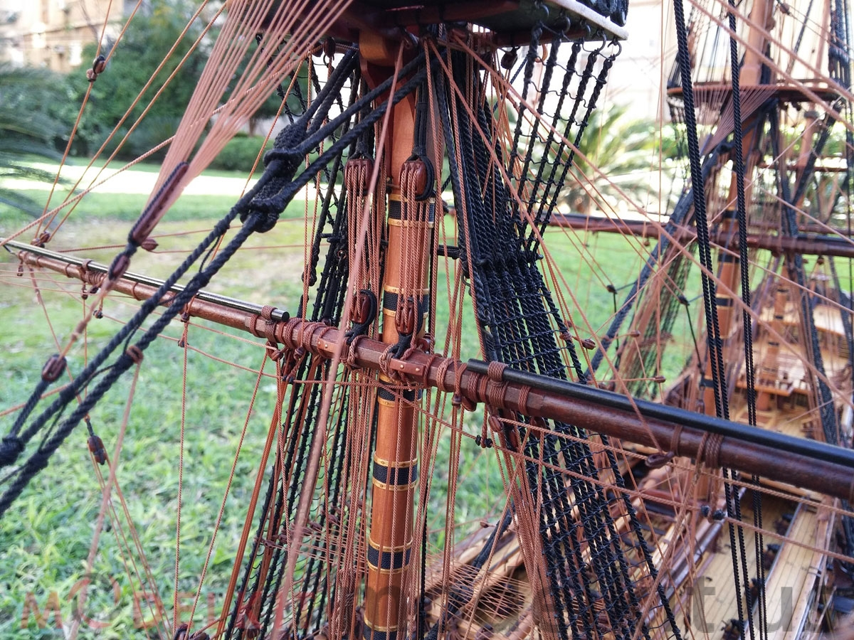 wooden model ship (6)