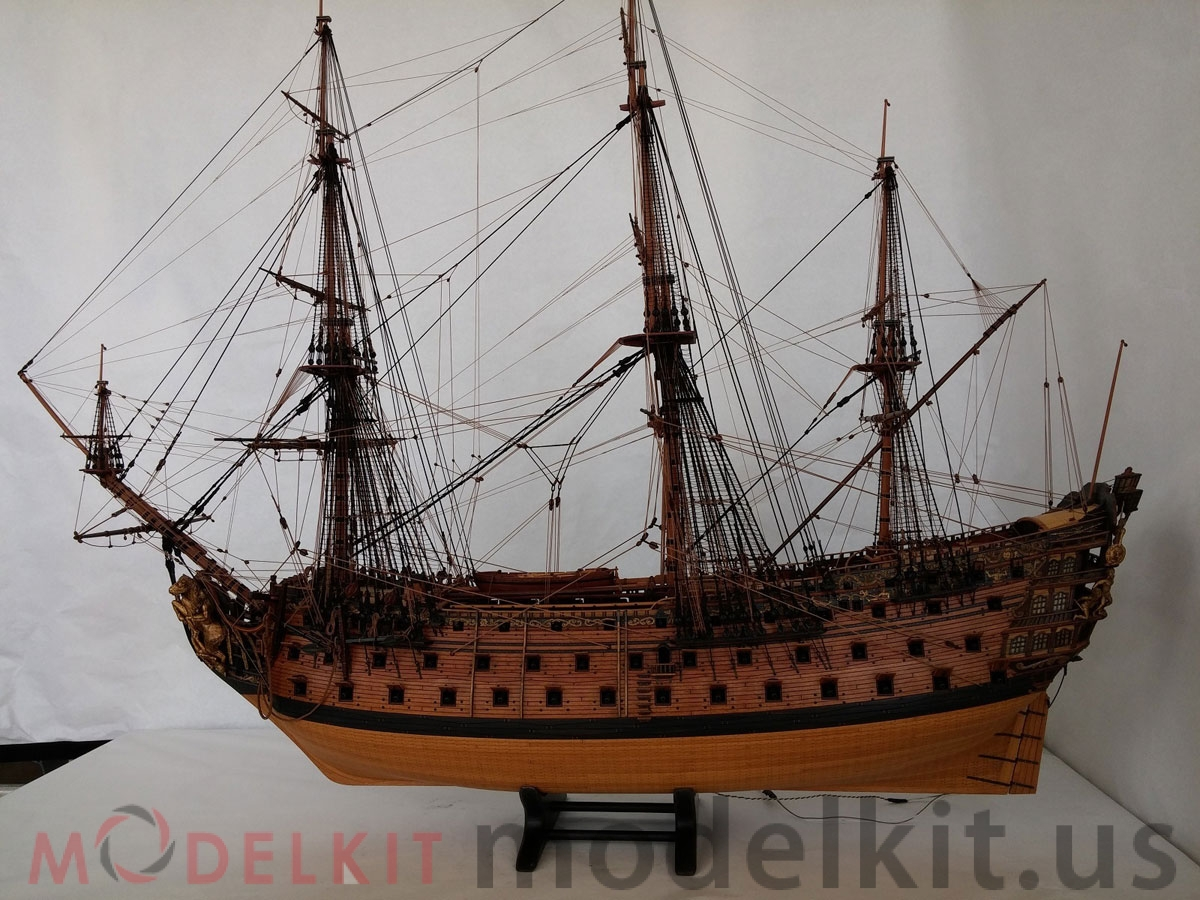 wooden model ship HMS Royal William