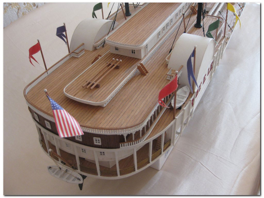 amati wooden ship kit Robert E. Lee