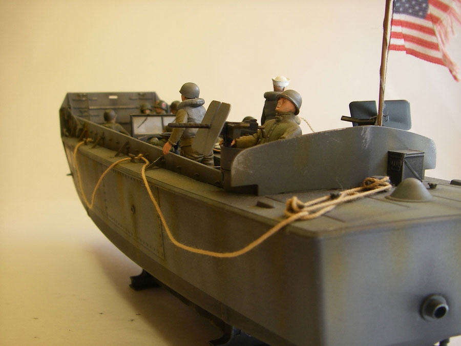 model of a landing boat from Italeri