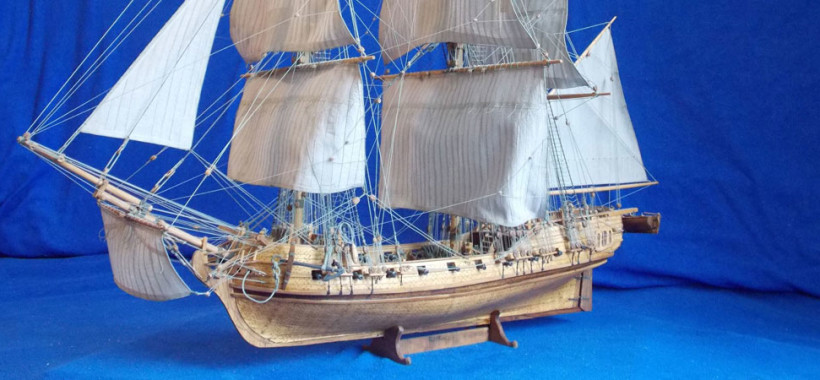 wood ship models