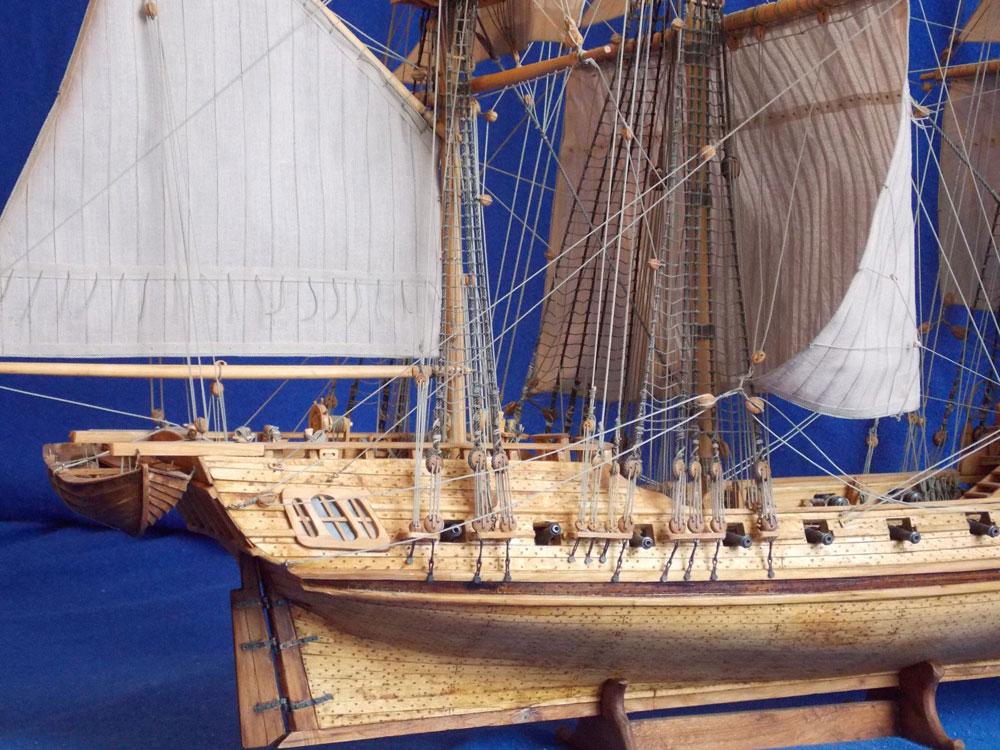 wood ship