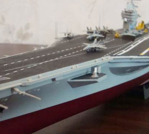 model ship kits Avraam Linkoln CVN-72