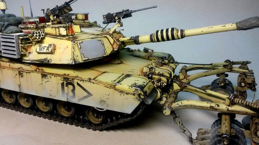 model tanks