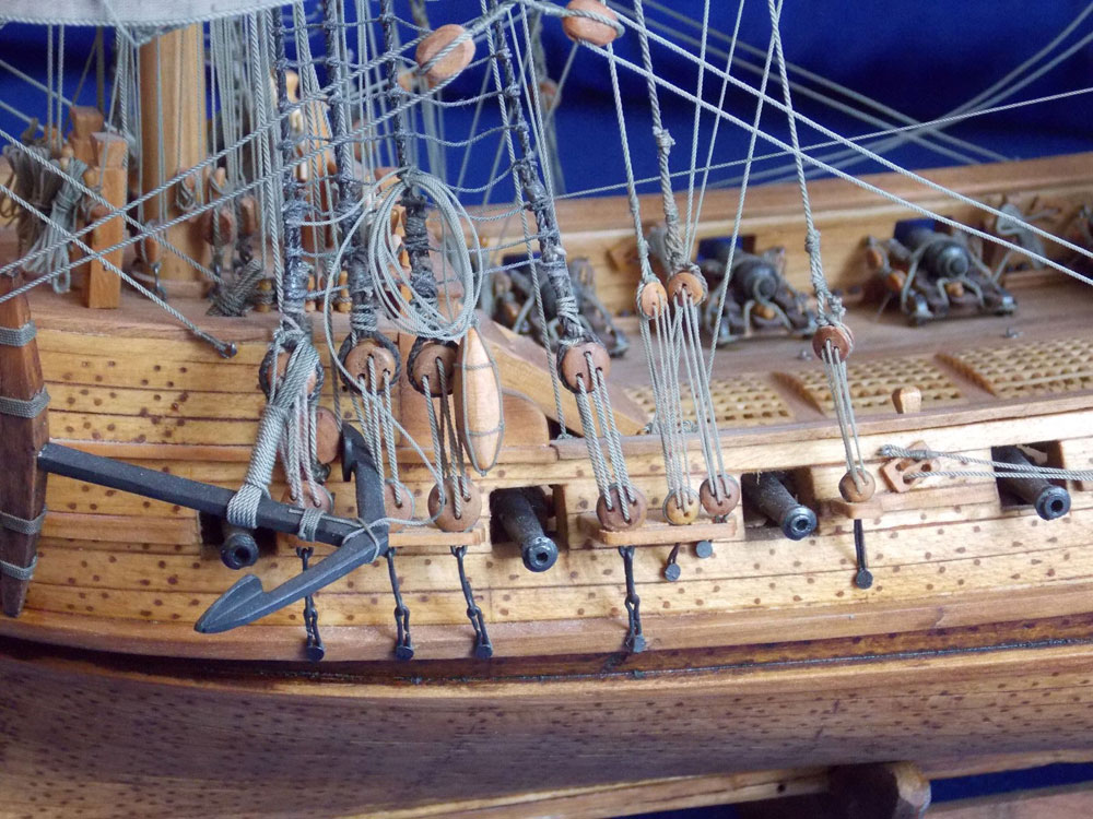 wood ship models