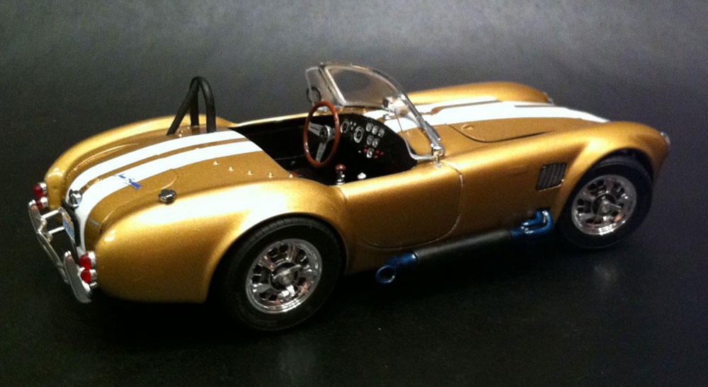 Cobra Kit Car Kits >> This is a car model AC Cobra assembled from Modelist kit for adults | Model Kits: cars, ships ...
