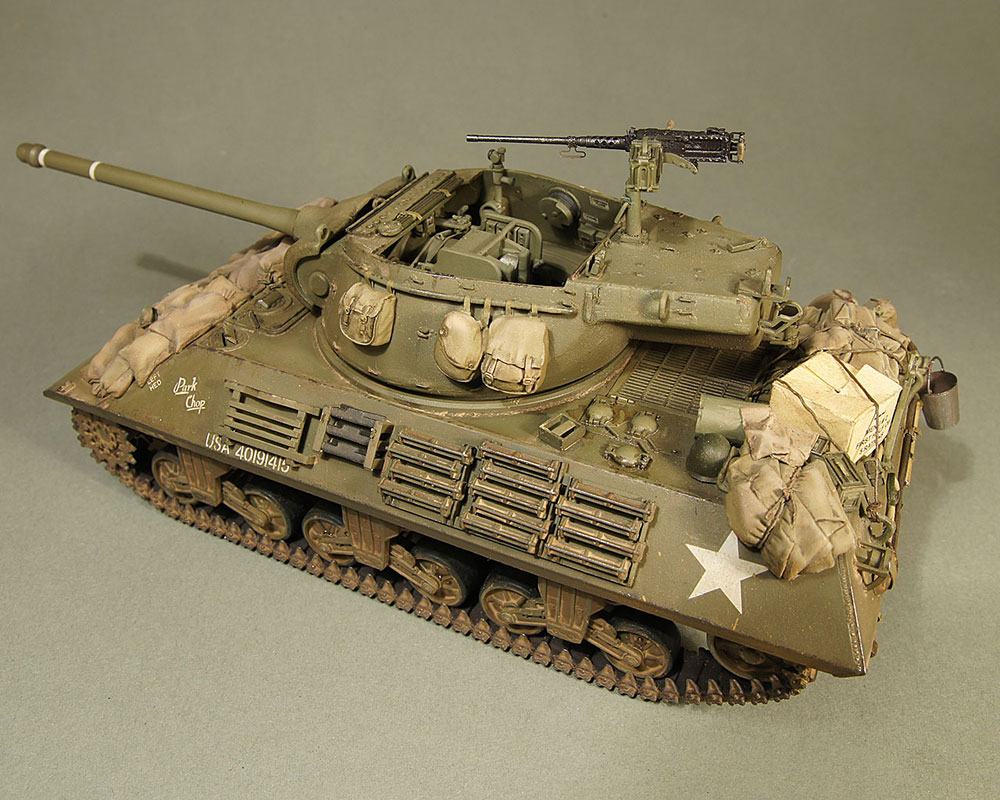 scale model self-propelled Carriage M36