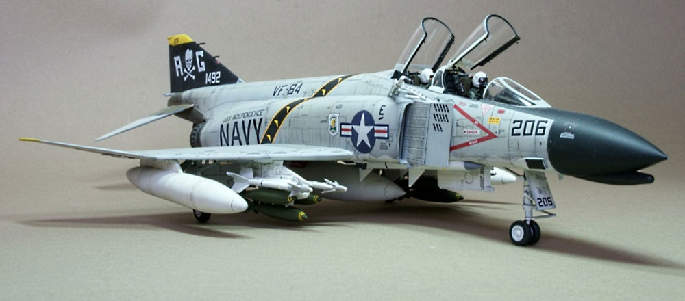 model airplane kit F-4 Phantom II