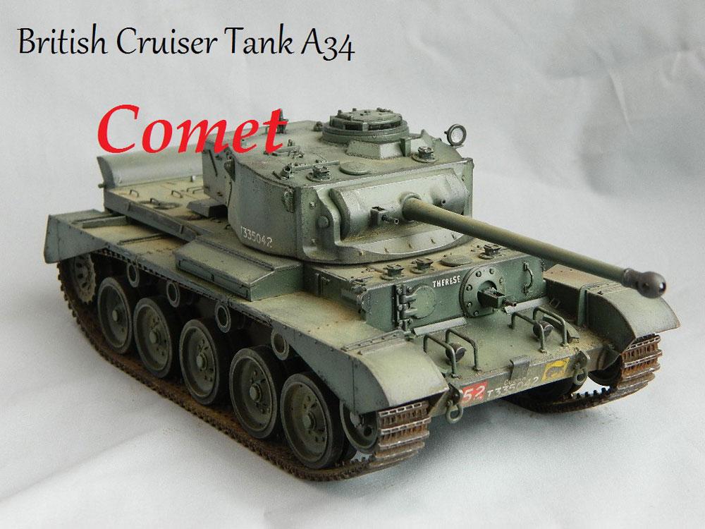 model tank A34 Comet