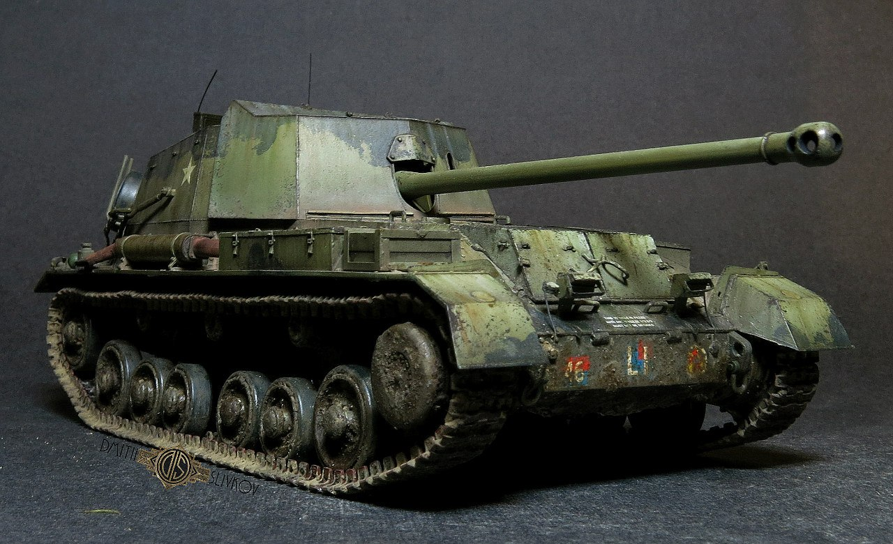 self-propelled guns model