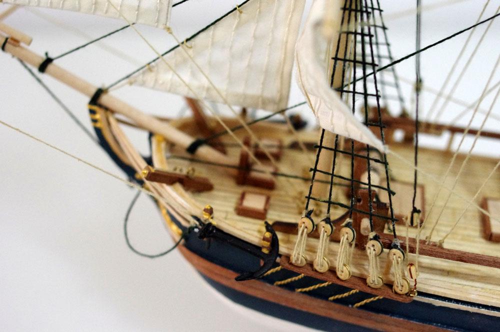 bounty model ship