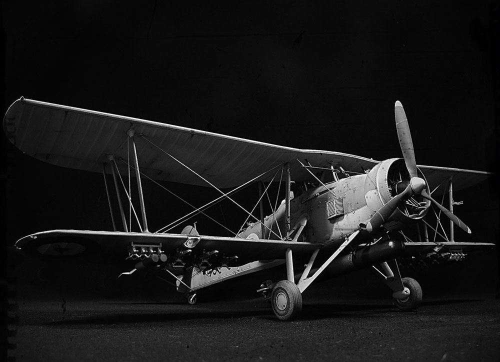 model plane Fairey Swordfish Mk.I