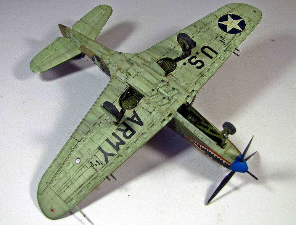 plane model kit P-400 Airacobra