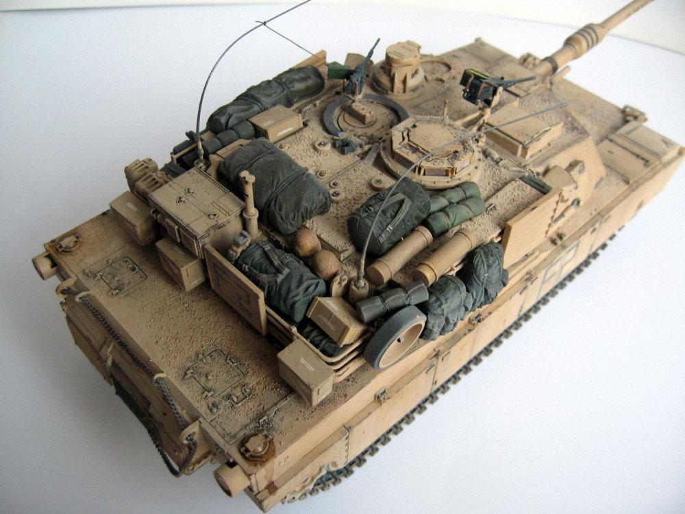 model tank Abrams M1A2 Zvezda kit