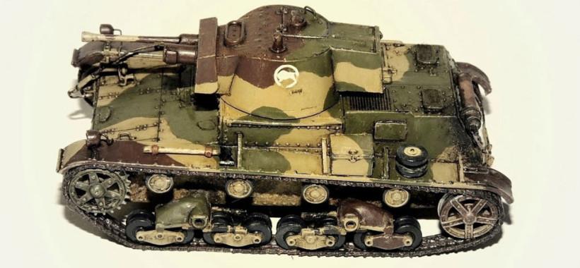 tank model kits