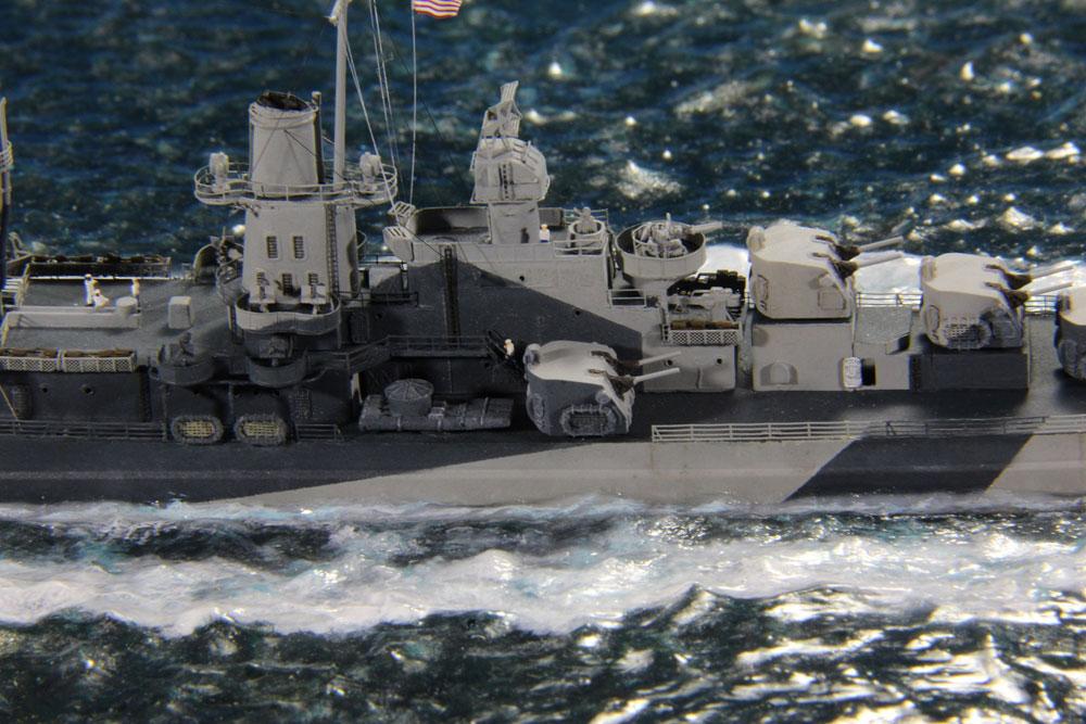model battleship San Diego