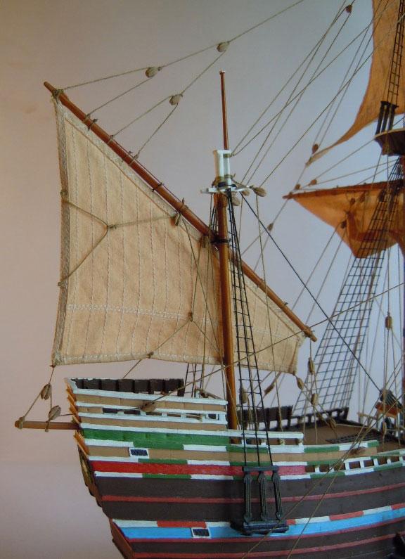 Galleon Ship Model Mayflower From Heller Kit Model Kits