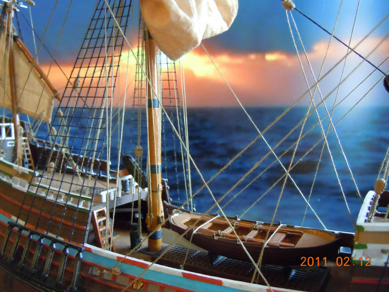 galleon ship model