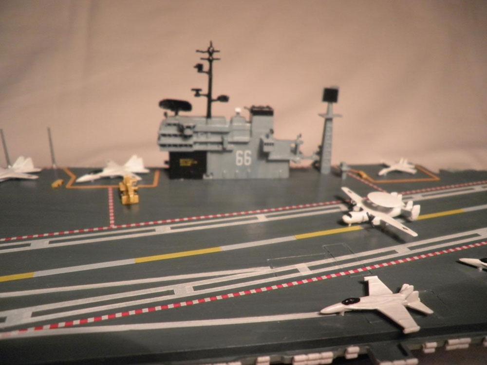 plastic ship model