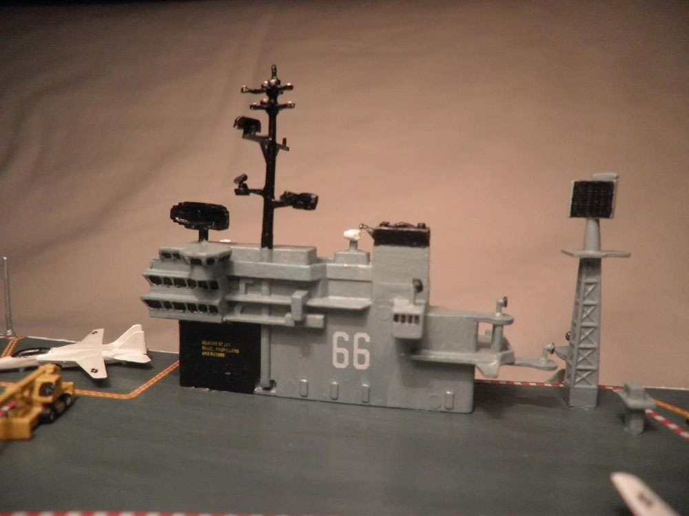 plastic ship model