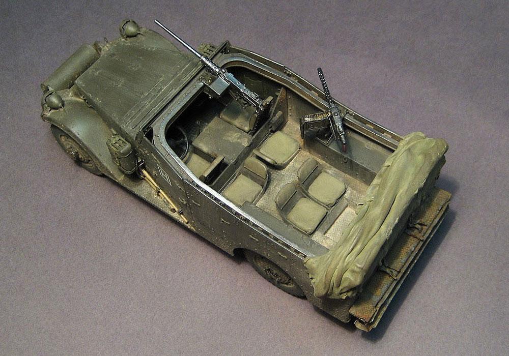armored troop-carrier model