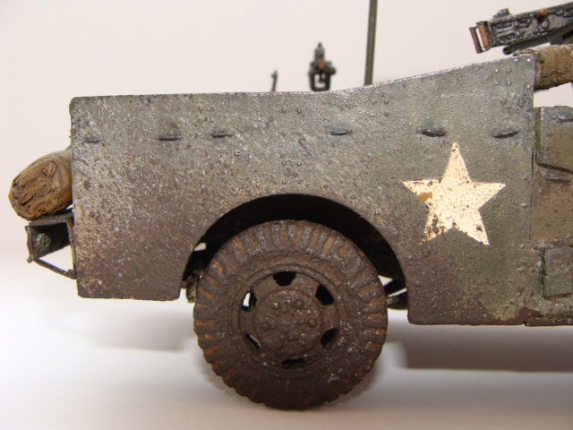 model M3 Scout car Zvezda kit