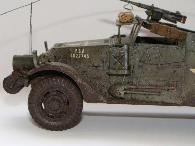 model M3 Scout car