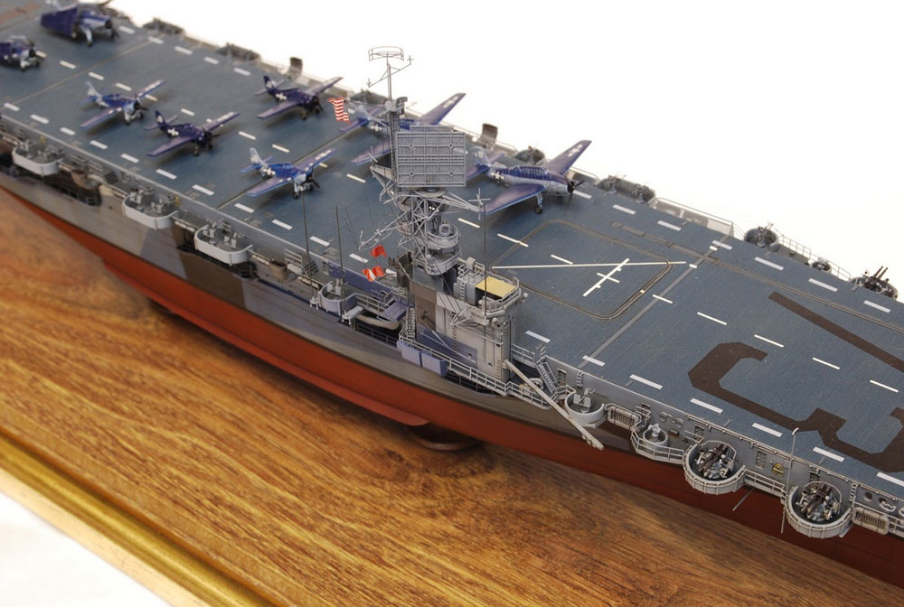 model ship Gambier Bay