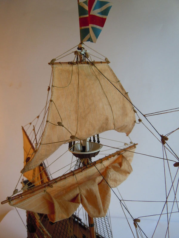 plastic model ship