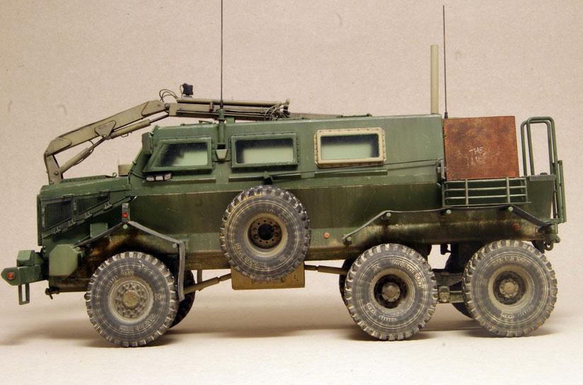 model truck kit Buffalo 6x6 MPCV