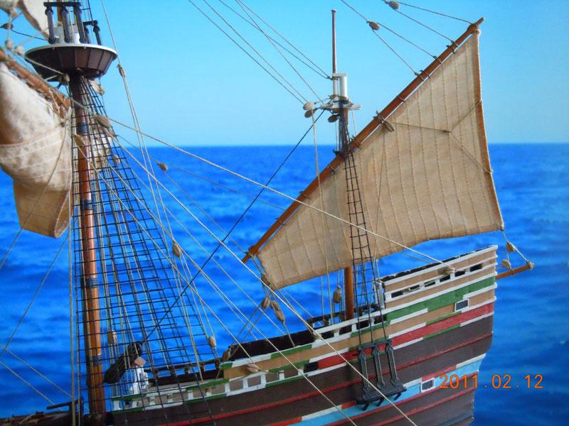 plastic model ship
